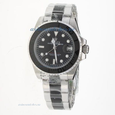 Cheap replica Rolex Yachtmaster Automatic with Black Dial S/S-2 sale in this store!