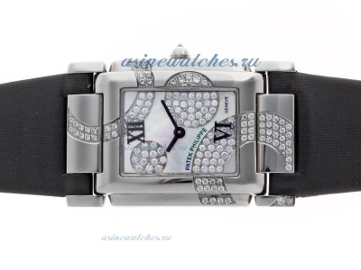 Replica Patek Philippe Twenty-4 Hours Limited Edition Swiss ETA Movement with MOP Dial Lady Size onl
