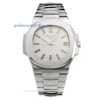 Replica Patek Philippe Nautilus MIYOTA 9015 Automatic Movement with Silver Dial S/S online