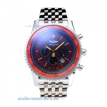Cheap replica Breitling Chronospace Working Chronograph with Red Dial S/S-Yellow Needle online sale
