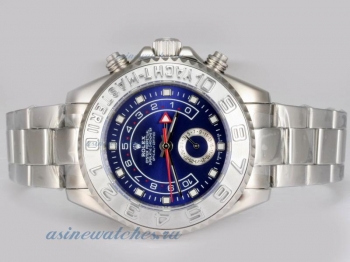 Cheap replica Rolex Yacht-Master II Automatic Working GMT with Blue Dial 2007 Model sale in this sto