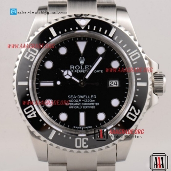 Cheap Rolex Sea-Dweller 3135 Auto Steel Case with Black Dial For Sale (BP)