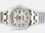 Cheap replica Rolex Masterpiece Automatic Diamond Marking and Bezel with MOP Dial online