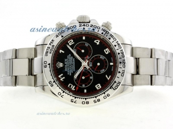 Cheap replica Rolex Daytona II Automatic with Black Dial Number Marking 42mm Version online