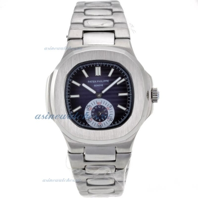 Replica Patek Philippe Nautilus Automatic with Blue Dial S/S-2 online