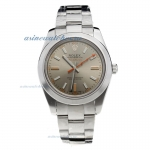 Cheap replica Rolex Milgauss Automatic with Gray Dial S/S