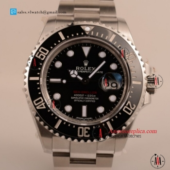 Cheap Rolex Sea-Dweller 2836 Auto Steel Case with Black Dial For Sale - 1:1 (AAAF)