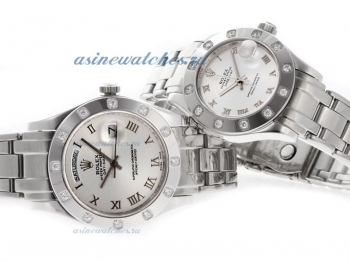 Cheap replica Rolex Masterpiece II Swiss ETA 2836 Movement Roman Markers with Silver Dial online