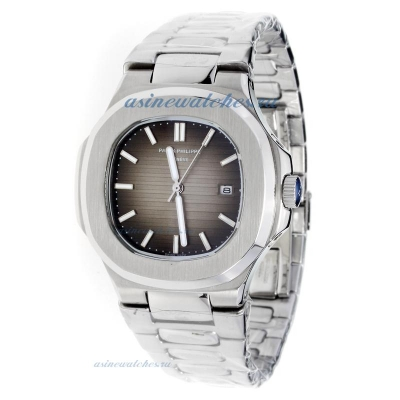 Replica Patek Philippe Nautilus with Brown Dial S/S-2 online
