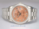 Discount Rolex Day-Date Automatic Diamond Bezel and Marking with Champagne Dial