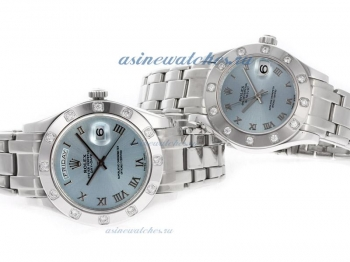 Cheap replica Rolex Masterpiece II Swiss ETA 2836 Movement Roman Markers with Blue Dial online