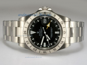 Cheap Rolex Explorer II Swiss ETA 2836 Movement with Black Dial Vintage Edition online