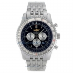 Cheap replica Breitling Navitimer Working Chronograph with Black Dial S/S-Oversized Version
