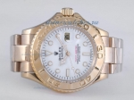 Cheap replica Rolex Yacht-Master Automatic Full Gold with White Dial sale in this store!