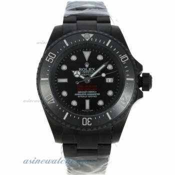 Top quality Rolex Pro Hunter Deep Sea PVD Case with Swiss Cal 3135 Movement-1:1 Version for you