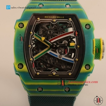 Cheap Richard Mille RM 67-02 P.9010 Auto PVD Case with PVD Bezel For Sale