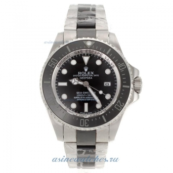 Top quality Rolex Sea Dweller Deepsea Automatic with Black Dial Authentic Ceramic Strap for you