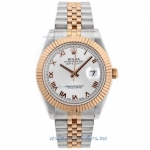 Cheap replica Rolex Datejust II Swiss ETA 2836 Movement Two Tone Roman Markers with Silver Dial onli