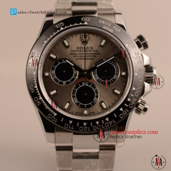 Cheap Rolex Daytona Chronograph 4130 Auto Steel Case with PVD Bezel For Sale - (EF)