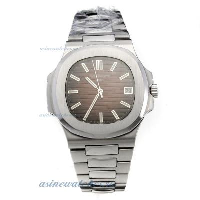 Replica Patek Philippe Nautilus MIYOTA 9015 Automatic Movement with Brown Dial S/S online