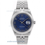 Cheap replica Rolex Datejust II Swiss ETA 2836 Movement Roman Markers with Blue Dial online
