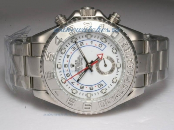 Cheap replica Rolex Yacht-Master II Automatic Working GMT with White Dial sale in this store!
