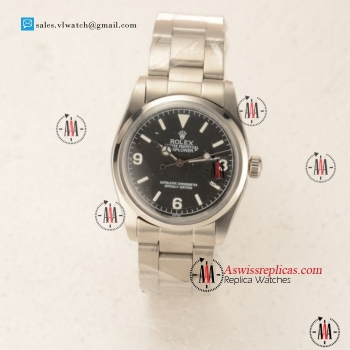 Rolex Explorer Steel Case with Black Dial For Sale