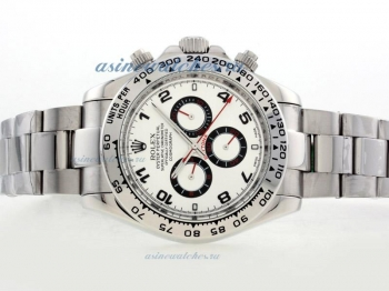 Cheap replica Rolex Daytona II Automatic with White Dial Number Marking 42mm Version online