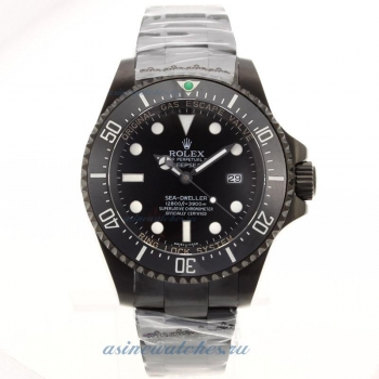 Top quality Rolex Sea Dweller Swiss Cal 3135 Movement Full PVD with Black Dial Ceramic Bezel for you
