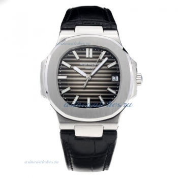 Patek Philippe Aquanaut Automatic with Dark Gray Dial-Sapphire Glass