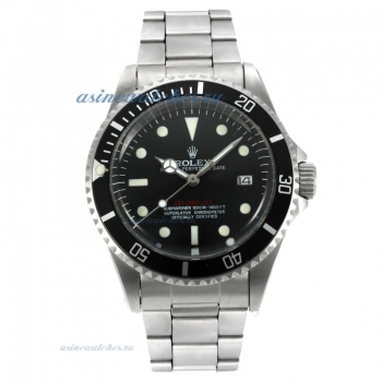 Top quality Rolex Sea Dweller Swiss ETA 2836 Movement Vintage Edition with Black Dial for you