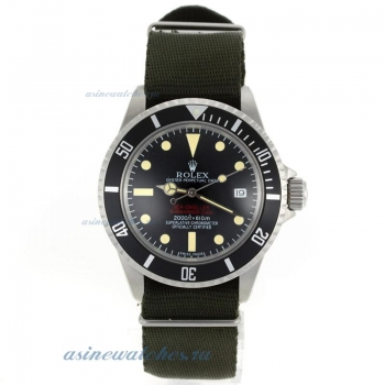 Top quality Rolex Sea Dweller Submariner 2000 Ref.1665 Vintage Edition-Green Nylon Strap for you
