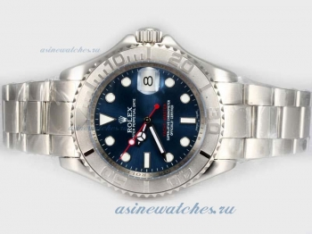 Cheap replica Rolex Yacht-Master Swiss ETA 2836 Movement with Blue Dial sale in this store!