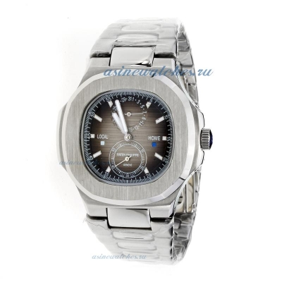 Replica Patek Philippe Nautilus Automatic with Gray Dial S/S online